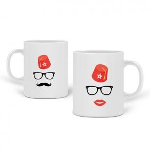 Mugs couple Tarbouche