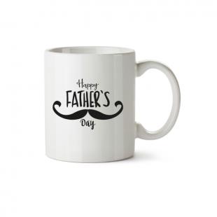 Mug Happy Father's Day grande moustache