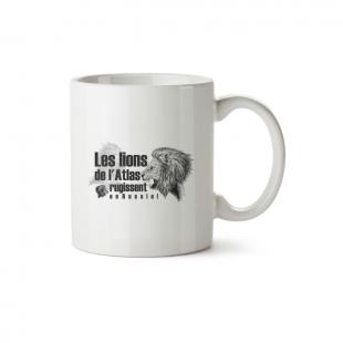 Mug Les Lions de l'Atlas rugissent en Russie