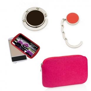 Pack nécessaire + miroir + porte-sac