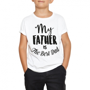 T-shirt enfant best dad