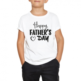 T-shirt enfant Happy father's day