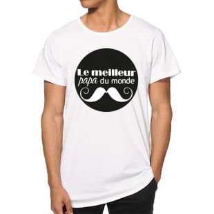 T-shirt meilleur papa du monde