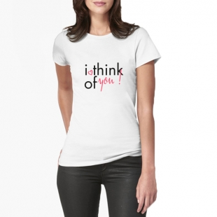 T-shirt Think of you