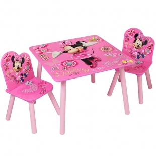 Table 2 Chaises Minnie Mouse