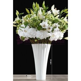Vase Blanc Matt - ASA Selection